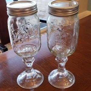 Other - Set of 2 redneck wine glass
